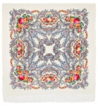 Павловопосадский платок «Сон бабочки» (Арт. 1463-1)