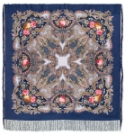 Павловопосадский платок «Сон бабочки» (Арт. 1463-12)