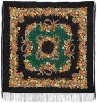 Павловопосадский платок «Рябиновые бусы» (Арт. 1193-18)