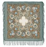 Павловопосадский платок «Янтарный вечер» (Арт. 1222-1)