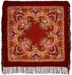 Павловопосадский платок «Вечерняя заря» (Арт. 1264-6)
