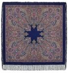 Павловопосадский платок «Восточный калейдоскоп» (Арт. 1402-14)