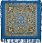 Павловопосадский платок «Озёрный край» (Арт. 1622-13)