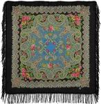 Павловопосадский платок «Озёрный край» (Арт. 1622-18)