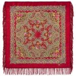 Павловопосадский платок «Озёрный край» (Арт. 1622-5)