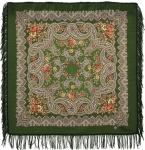 Павловопосадский платок «Озёрный край» (Арт. 1622-10)