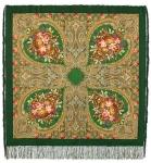 Павловопосадский платок «Осенние кружева» (Арт. 1471-9)