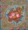 Павловопосадский платок «Осенние кружева» (Арт. 1471-11)