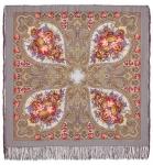 Павловопосадский платок «Осенние кружева» (Арт. 1471-2)