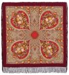 Павловопосадский платок «Осенние кружева» (Арт. 1471-7)