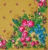 Павловопосадский платок «Солнечное лето» (Арт. 1340-0)