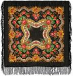 Павловопосадский платок «Золотые листья» (Арт. 146-18)