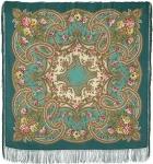 Павловопосадский платок «Сказочные мотивы» (Арт. 1580-11)