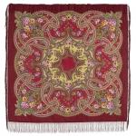 Павловопосадский платок «Сказочные мотивы» (Арт. 1580-6)