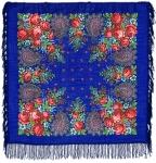 Павловопосадский платок «Южная ночь» (Арт. 148-13)