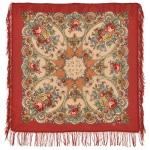 Павловопосадский платок «Нежные объятия» (Арт. 1641-3)