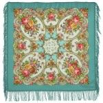 Павловопосадский платок «Нежные объятия» (Арт. 1641-11)