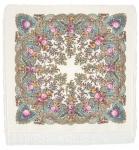 Павловопосадский платок «Весенний ручеек» (Арт. 1428-3)
