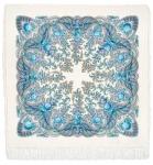 Павловопосадский платок «Весенний ручеек» (Арт. 1428-4)