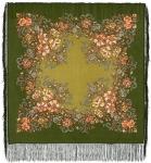 Павловопосадский платок «Вечерний сад» (Арт. 1488-10)