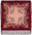Павловопосадский платок «Вечерний сад» (Арт. 1488-7)