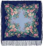 Павловопосадский платок «Вечерний сад» (Арт. 1488-13)