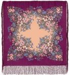 Павловопосадский платок «Вечерний сад» (Арт. 1488-15)