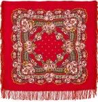 Павловопосадский платок «Маков цвет» (Арт. 155-5)