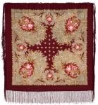 Павловопосадский платок «Лесное чудо» (Арт. 845-7)