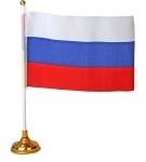 Флаг со штоком на подставке