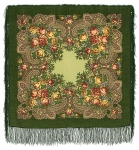 Павловопосадский платок «Незнакомка» (Арт. 779-10)