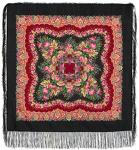 Павловопосадский платок «Романтика» (Арт. 1381-18)