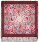 Павловопосадский платок «Кумушка» (Арт. 1453-16)