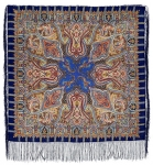 Павловопосадский платок «Шафран» (Арт. 1155-13)