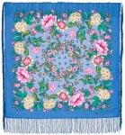 Павловопосадский платок «Цветомания» (Арт. 1439-13)