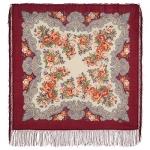 Павловопосадский платок «Румянец» (Арт. 1540-5)