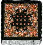 Павловопосадский платок «Южанка» (Арт. 1387-18)