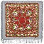 Павловопосадский платок «Цыганочка» (Арт. 1579-2)