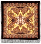 Павловопосадский платок «Фаворит» (Арт. 1344-18)