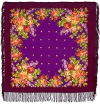 Павловопосадский платок «Варенька» (Арт. 1317-7)