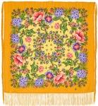 Павловопосадский платок «Цветомания» (Арт. 1439-2)
