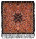 Павловопосадский платок «Шафран» (Арт. 1155-18)