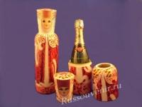 Футляр для шампанского ( Арт. МС - 152 )