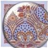 Павловопосадский платок «Венецианская ночь» (Арт. 1260-1)