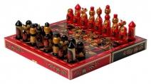 Хохлома - Шахматы ( Арт. HG - 05 )