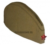 Классическая солдатская пилотка ВОВ (P001)