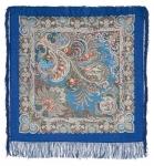 Павловопосадский платок «У синего моря» (Арт. 681-13)