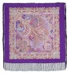 Павловопосадский платок «У синего моря» (Арт. 681-15)