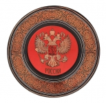 Тарелка - подарочная - Москва (Арт. TМM-10)