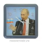"""Часы настенные квадратные """"Путин В.В."""""""